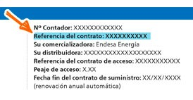 Número contrato